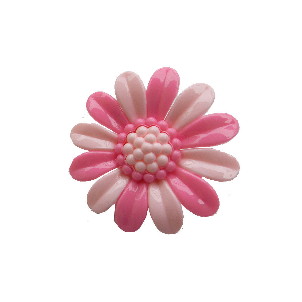 Sunflower clip Pink 2 Tone