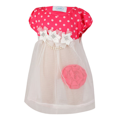 Princess Flora Dress - Fuchsia