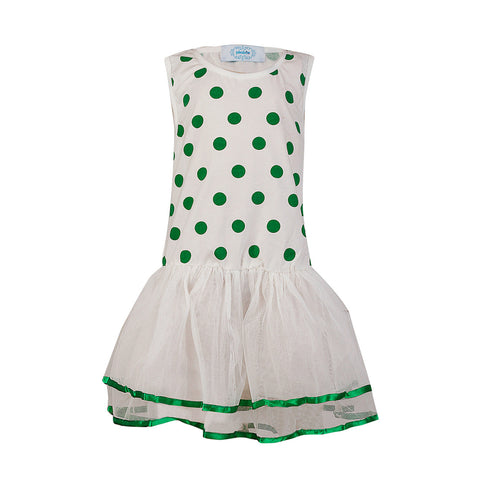 Polka Dotted Tiny One - Green