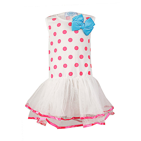 Polka Dotted Tiny One - Pink