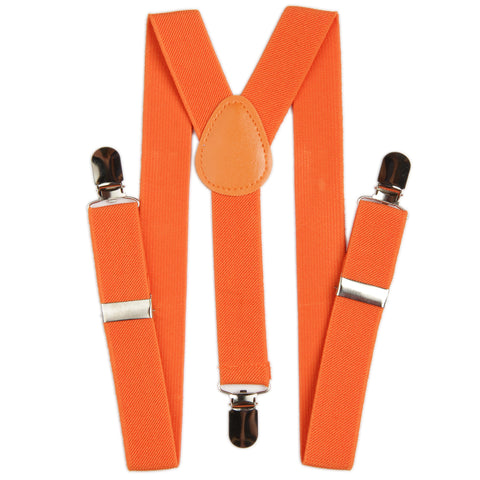 Boys Suspender - Orange