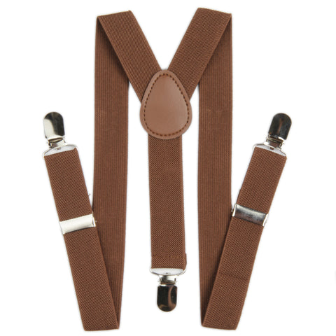 Boys Suspender - Brown