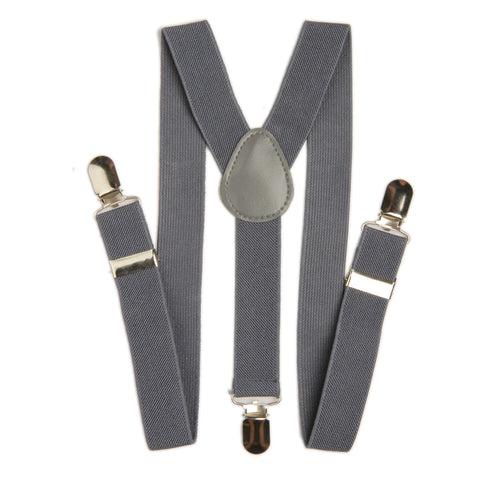 Boys Suspender - Grey