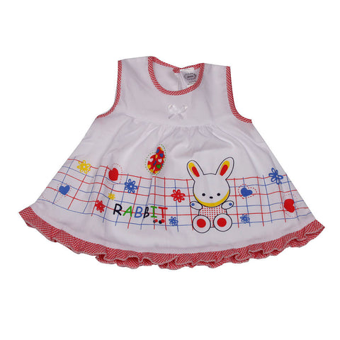 Bunny Frock - Red