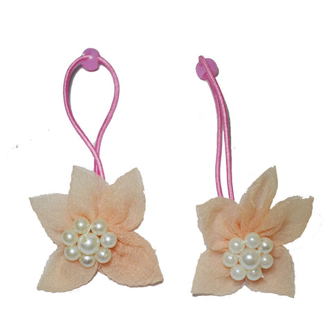 Elegant flower rope bands - Peach