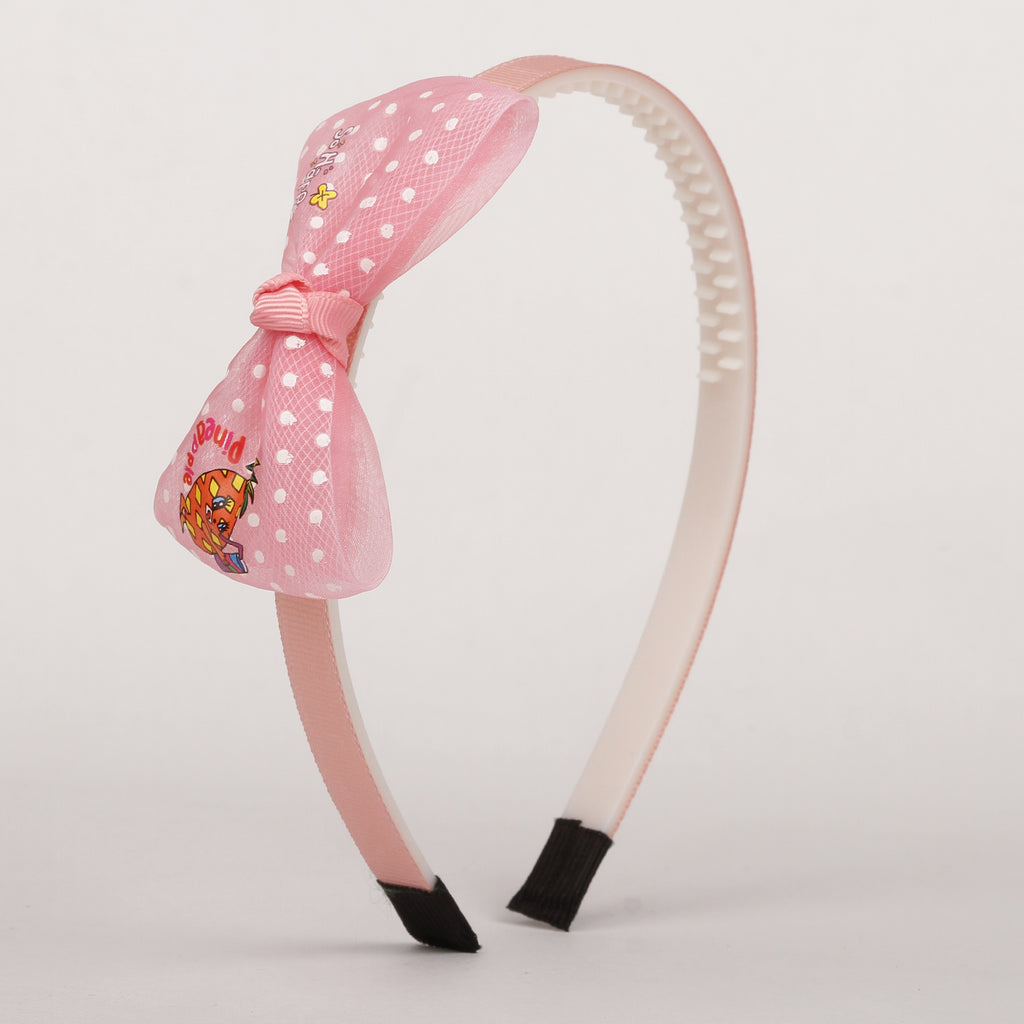 Be Happy Hairband - Baby Pink