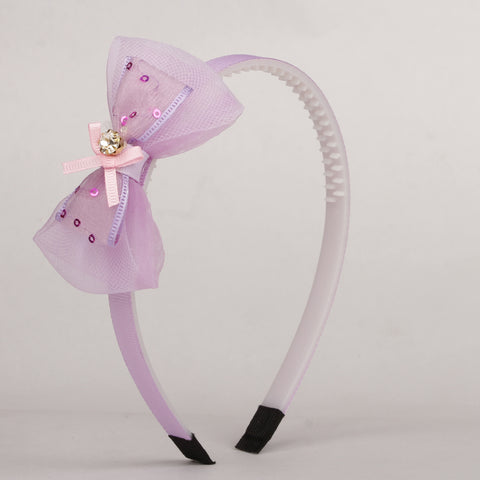 Diamante Hairband - Purple