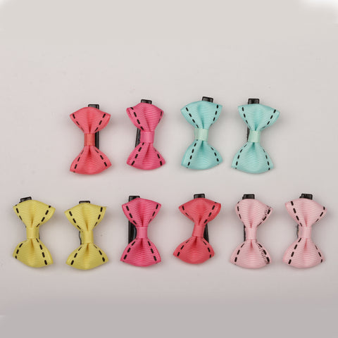 Alligator bow clips combo pack