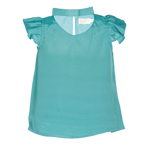Green Wing Casual Top