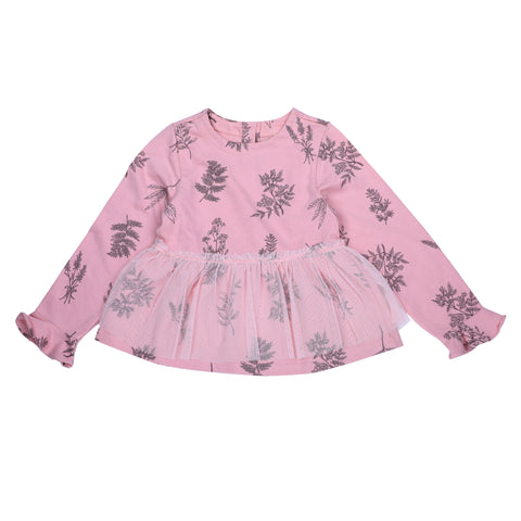 Floral Printed Girls Frock