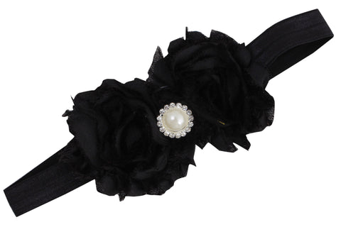 Queen's Black Bling headband