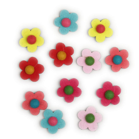 Velcro Flower Clips