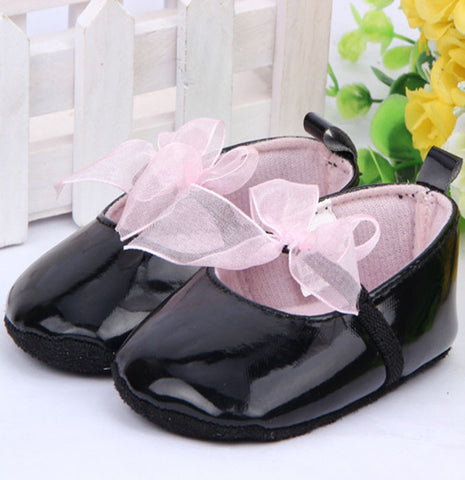 Black Lace Ballerina Shoes