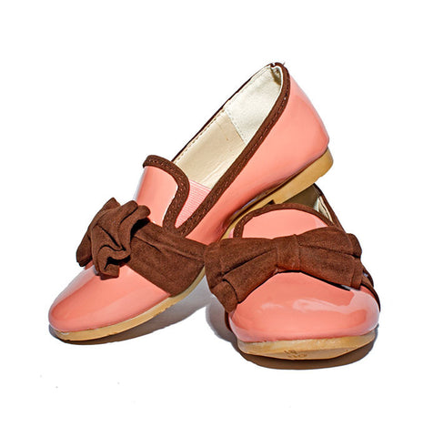 Peach Ballerina Shoes