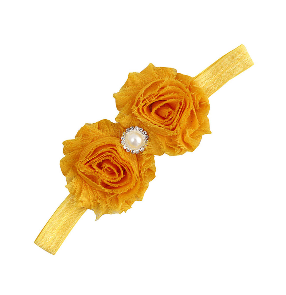 Queen's Yellow Bling headband