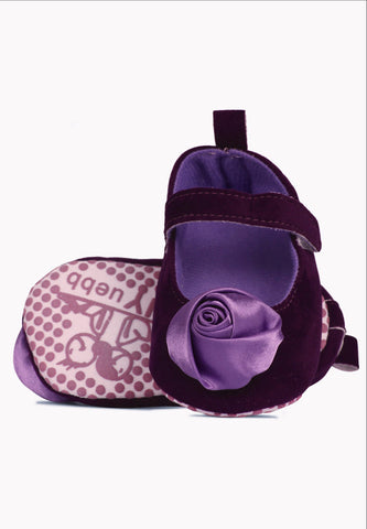 My purple rose Prewalker shoes