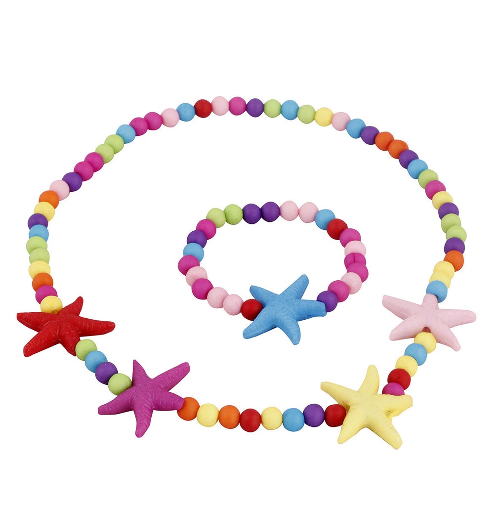 Starfish jewellery set