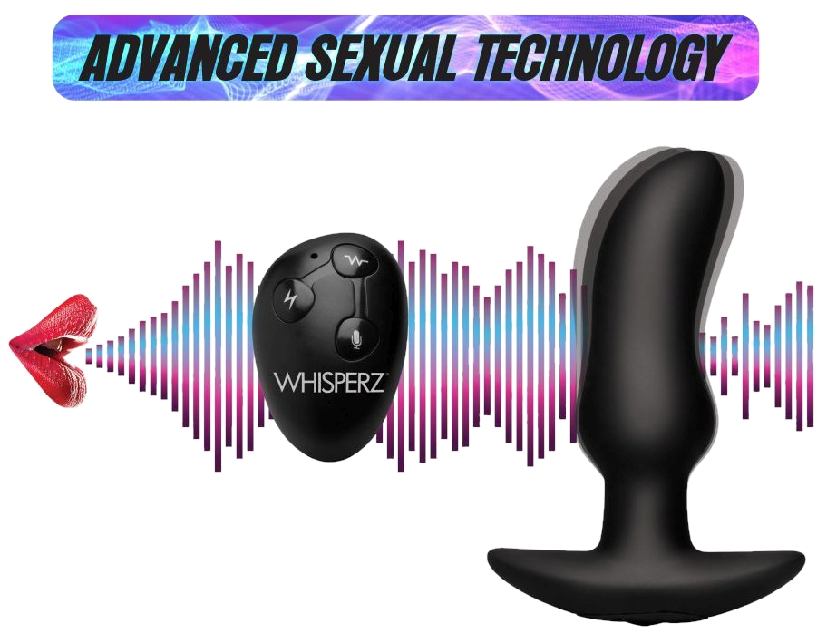 Voice Activated 10X Vibrating Prostate Plug with Remote Control