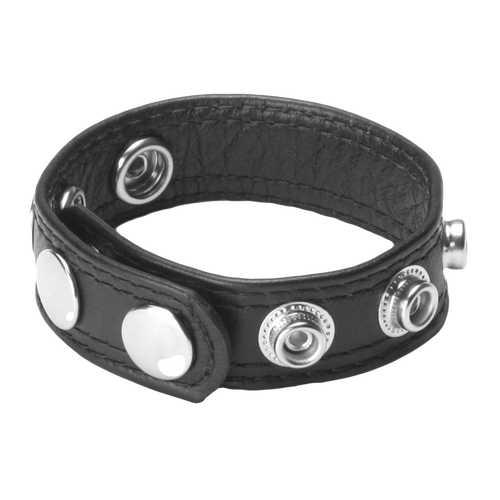 Strict Leather Speed Snap Cock Ring - Night Owl Fans