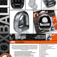 360 2 way Cock Ring + Ball Sling - Night Owl Fans