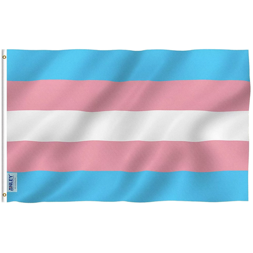 3x5 Trans Flag - Night Owl Fans