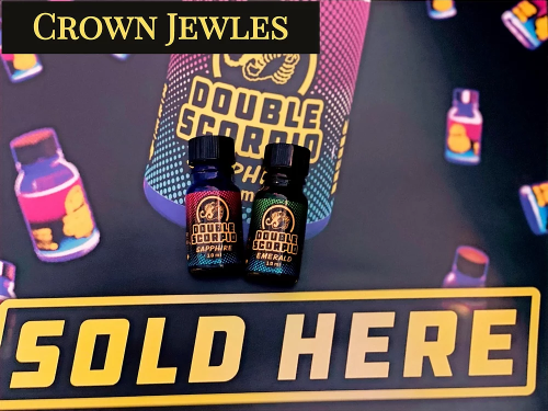 Double Scorpio - Crown Jewels 10ml. Variety Pack