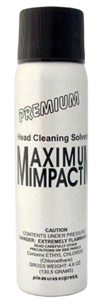 Maximum Impact Cleaning Solvent Spray