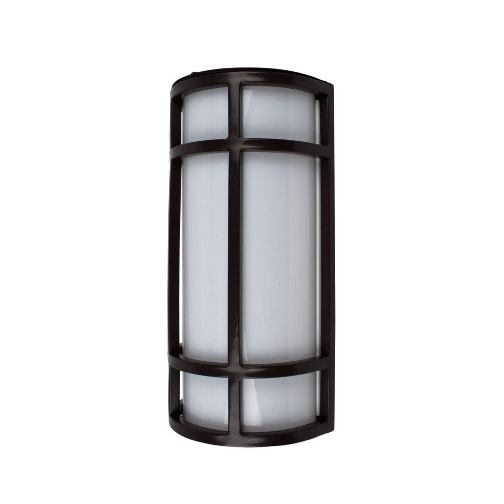 "12"" Contemporary LED Outdoor Wall Sconce"