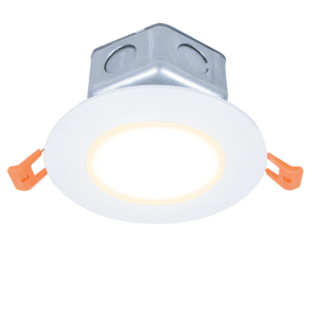 "5"" Modern LED Recessed Direct Wire Downlight With J-Box"