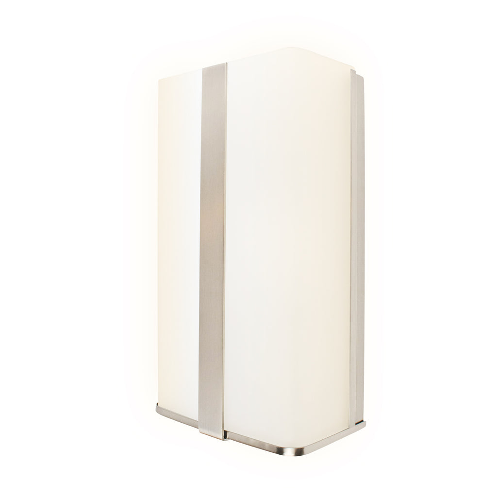 "11"" Modern LED Glass Wall Sconce"