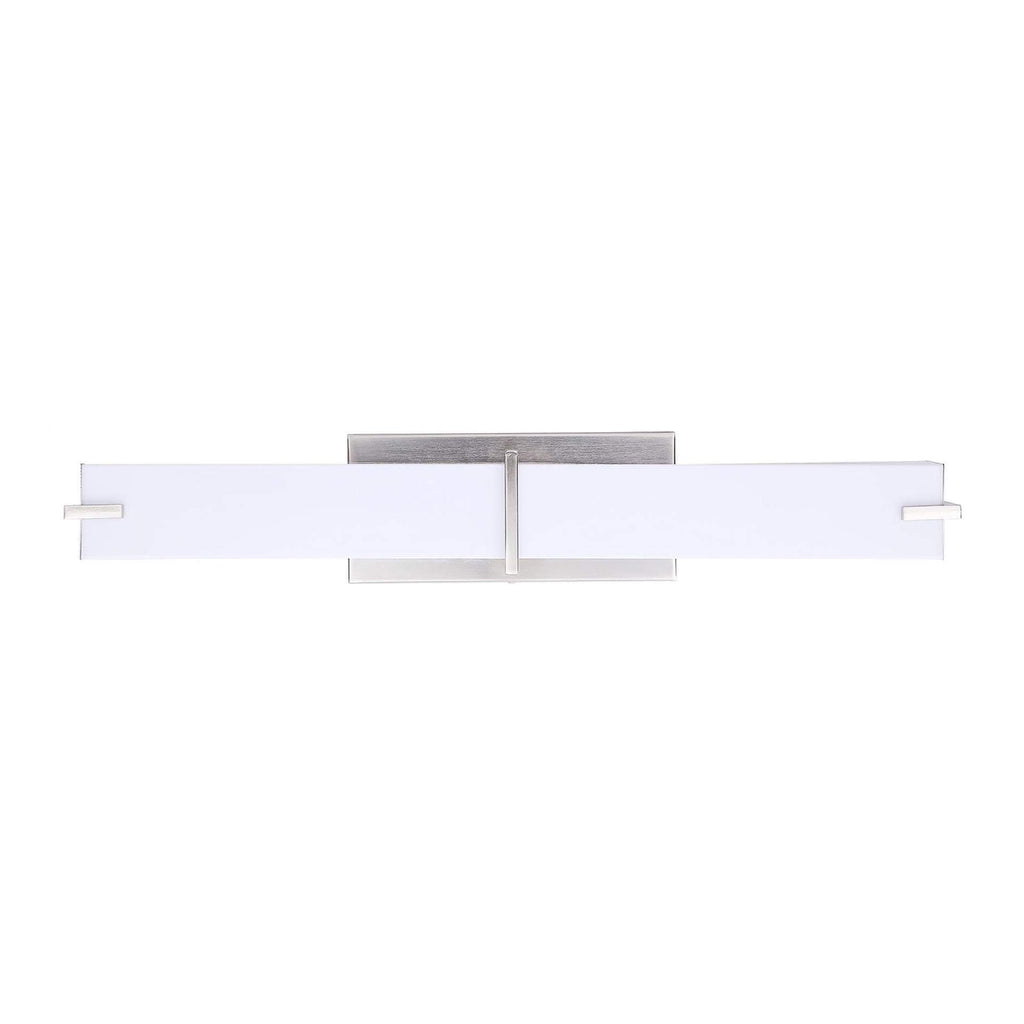 "26"" Modern LED Square Vanity Light"