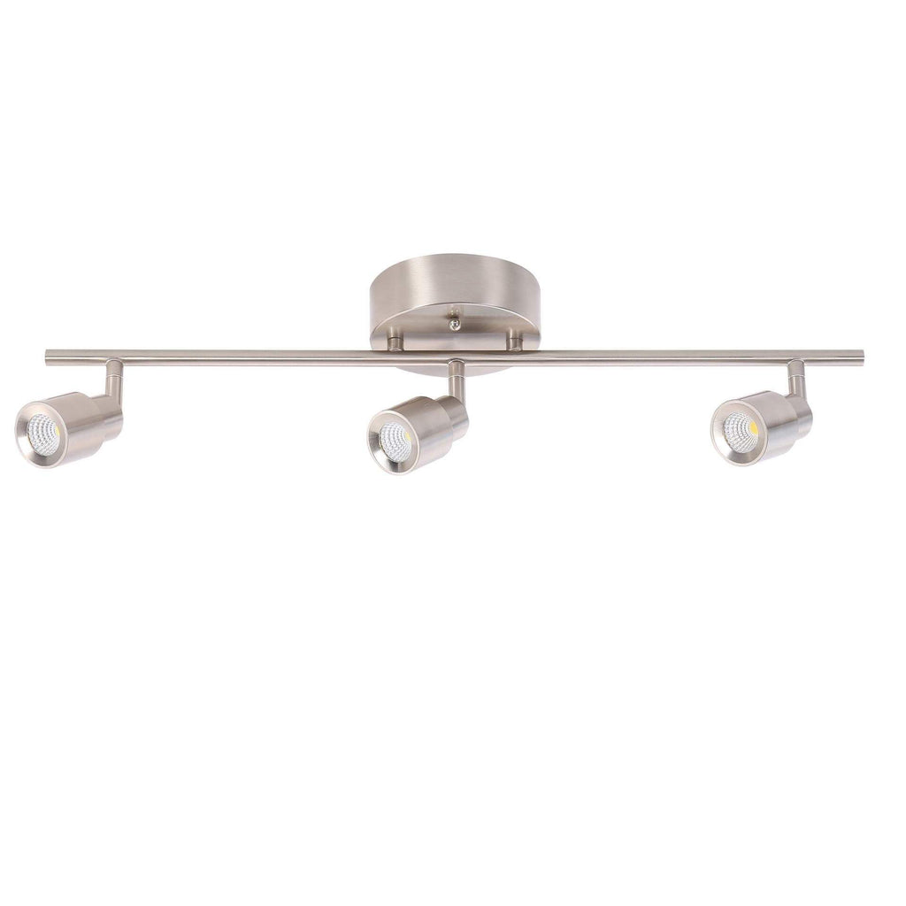 "24"" Modern LED Track Light 3-Lamp"