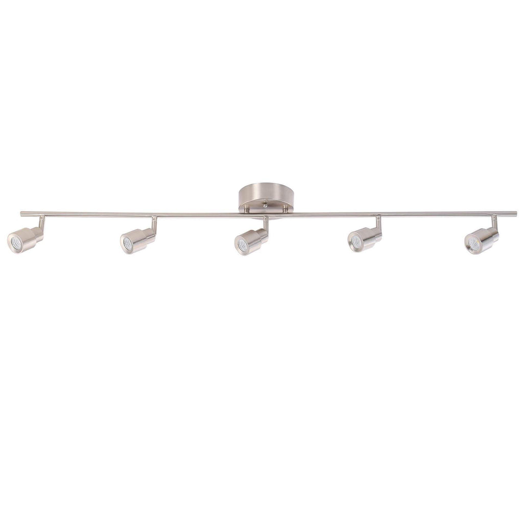 "45"" Modern LED Track Light 5-Lamp"