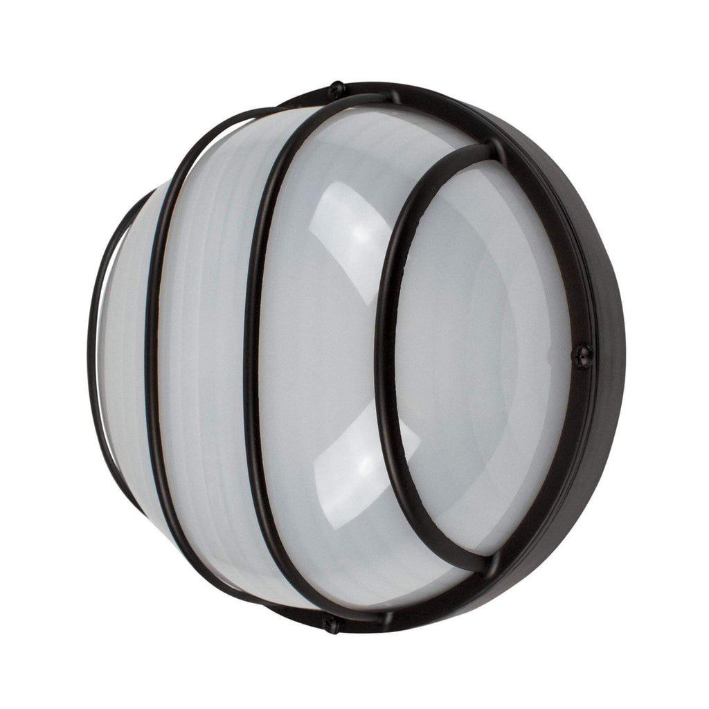 "9"" Utility LED Outdoor Round Bulkhead Light"