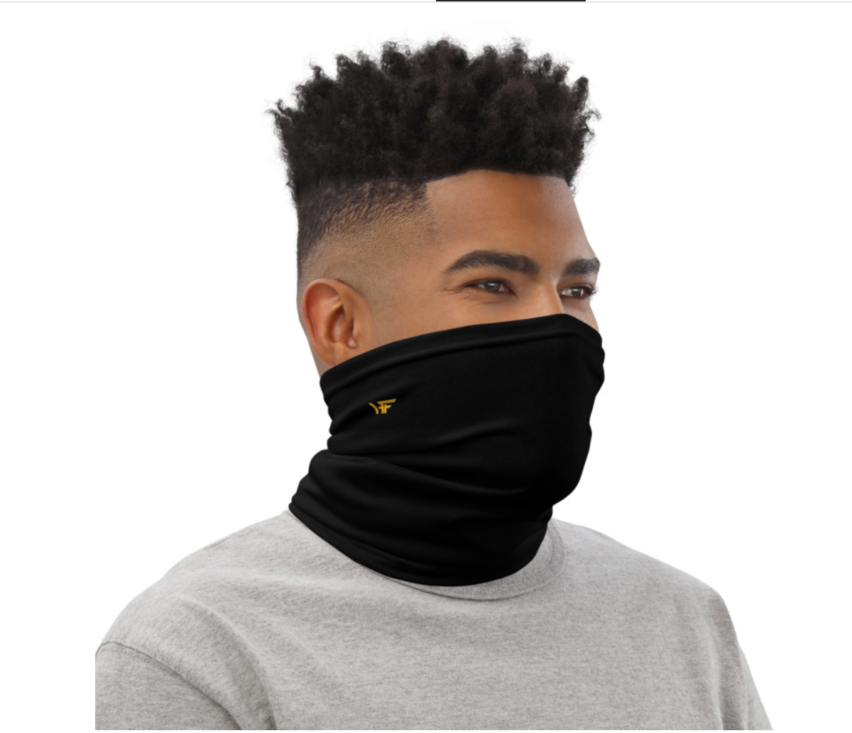 Black Neck Gaiter (One Size)