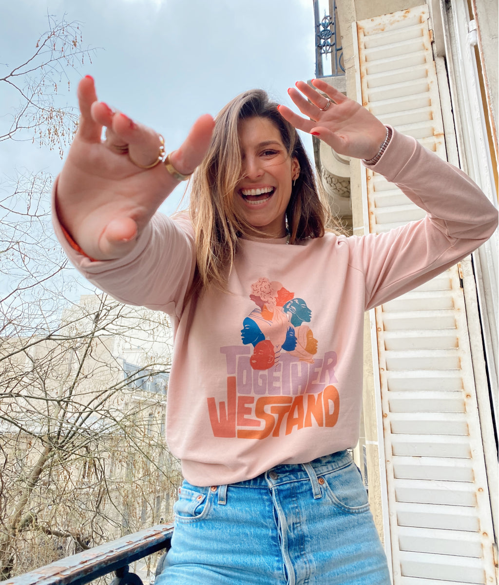 Parisienne et Alors - Sweatshirt TOGETHER