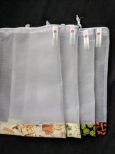 Load image into Gallery viewer, Reusable Produce Bags - set of 3