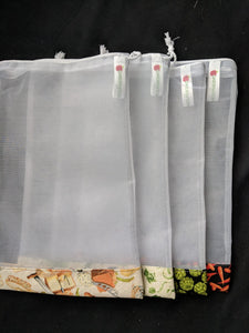 Reusable Produce Bags - set of 3