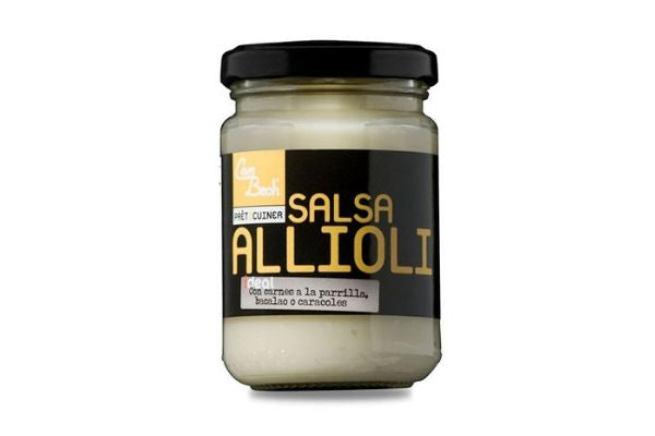 Salsa allioli 135gr - Can Bech