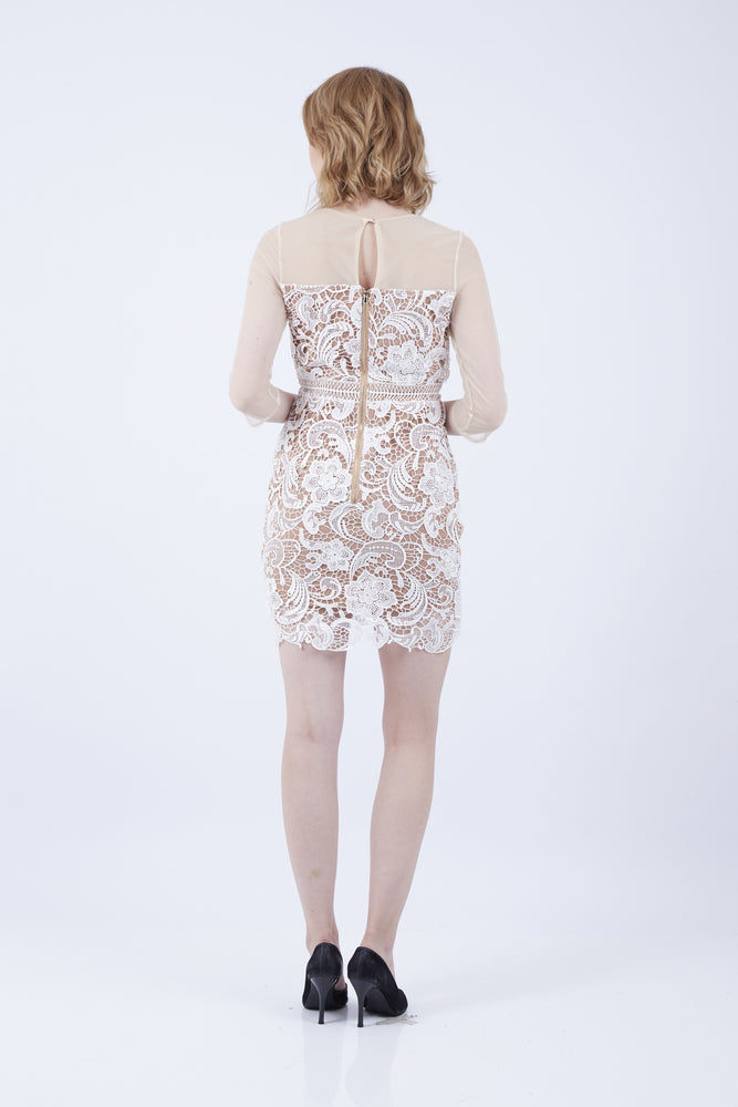 Load image into Gallery viewer, KATHY SWEETHEART BROCADE DRESS