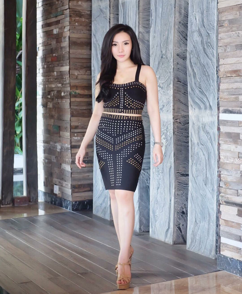 Cleo Two Piece Bandage - Set