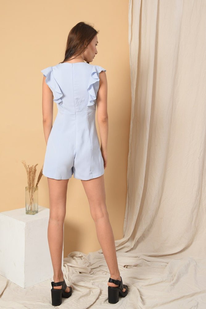 ASHLEY 3FLOOR SKY BLUE JUMPSUIT