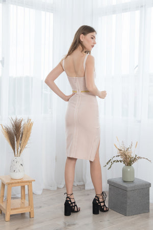 LUNA TANK SEXY MINI BANDAGE DRESS
