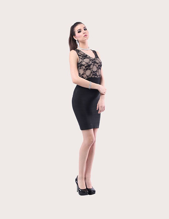 Load image into Gallery viewer, Regina Signature Bandage Dress