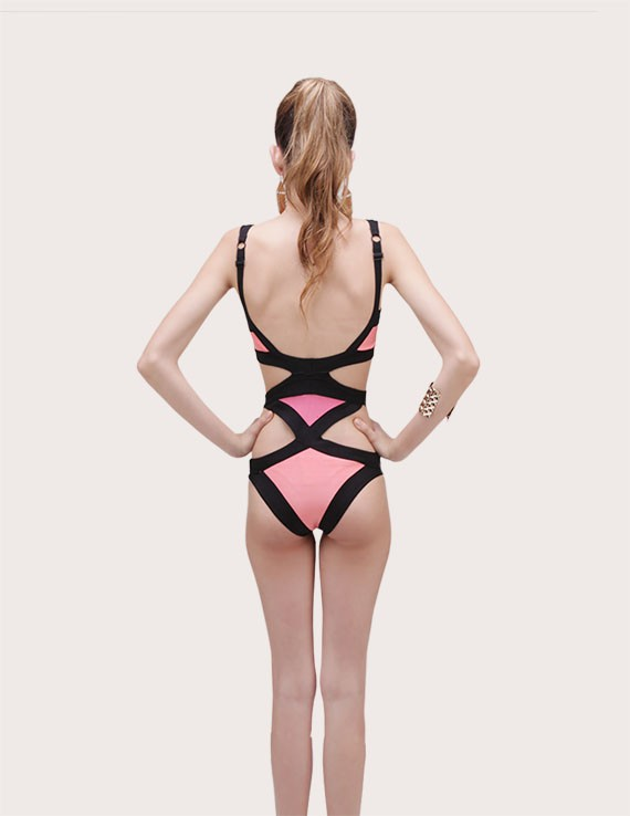 Cutout One Piece Swimsuit