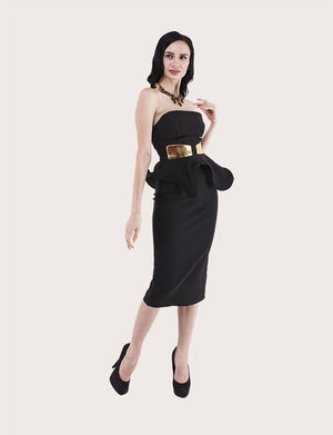 Jolie Peplum Dress