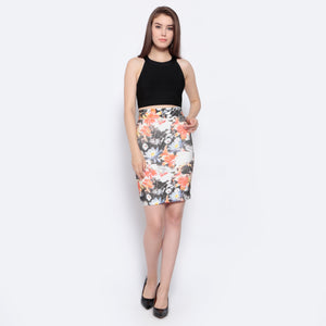 Flower Bandage Skirt