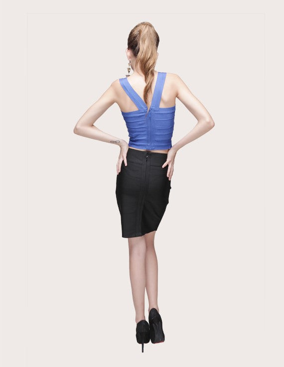 Load image into Gallery viewer, Tank Signature Bandage Crop Top