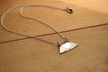 Load image into Gallery viewer, Silver Hatch Tuareg Pendant Necklace