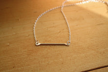 Load image into Gallery viewer, Simple Bar Pendant Necklace